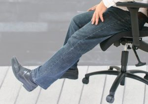 Prothesen Bürostuhl