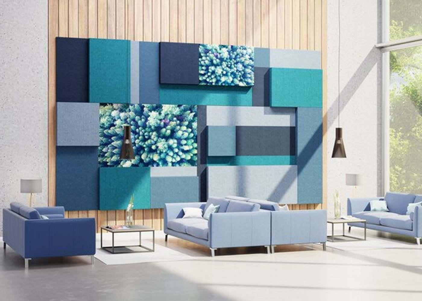 Wand- und Deckenabsorber